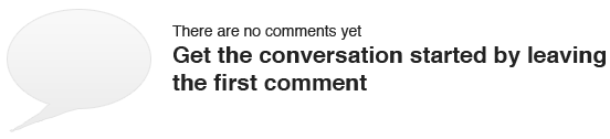 There are no comments yet. Get the conversation started by leaving the first comment